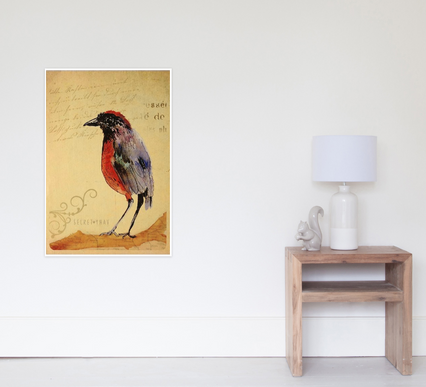 "Poster ""Ave 1"" / Bird 1 poster"