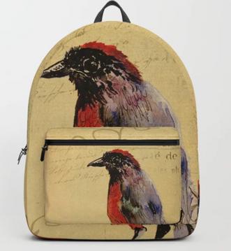 "Mochila ""Ave 1"" / Bird 1 Backpack"
