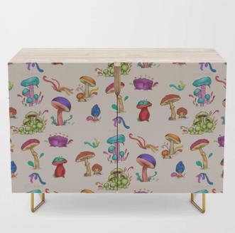 Mushrooms Credenza