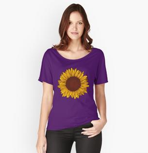 Playera de girasol / Sunflower T-Shirt
