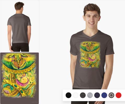 Baroque Organic V-Neck T-Shirt