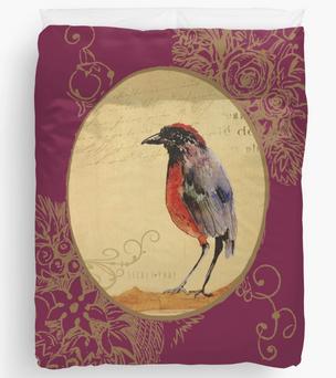 """Colcha """"Ave 1"""" / Bird 1 Duvet Cover"""