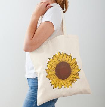 Sunflower Totebag