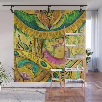 Baroque Organic Wall Mural