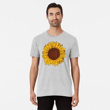 """Playera para hombre """"Girasol"""" / Sunflower Men's T-Shirt"""