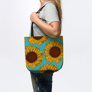 Sunflower Tote Bag (style 2)