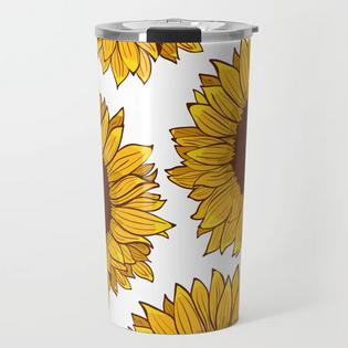 Termo de Girasol / Sunflower Travel Mug