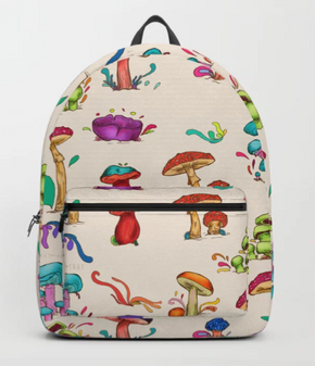 "Mochila ""Hongos"" / Mushrooms Backpack"