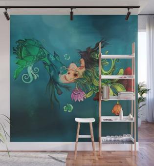 "Mural ""Metamorfosis"" / Metamorphosis Wall Mural"