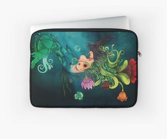 """Funda para laptop """"Metamorfosis"""" / Metamorphosis Laptop sleeve"""