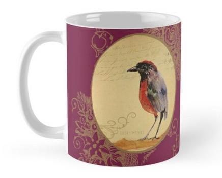 """Taza """"Ave 1"""" / Bird 1 Mug"""