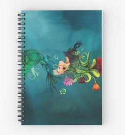 "Libreta de espiral ""Metamorfosis"" / Metamorphosis Spiral Notebook"