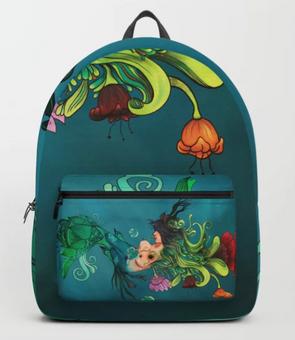 "Mochila ""Metamorfósis"" / Metamorphosis Backpack"