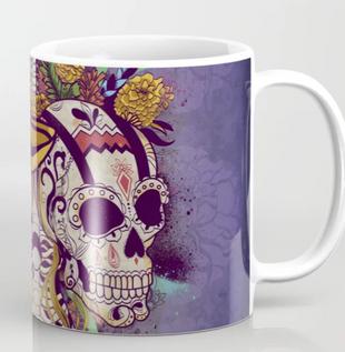 "Taza 2 ""Día de Muertos"" / Day of the dead Mug 2"