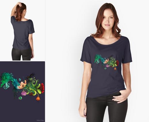 "Playera ""Metamorfosis"" / Metamorphosis Fit T-Shirt"