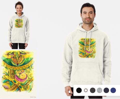 Baroque Organic Pullover Hoodie