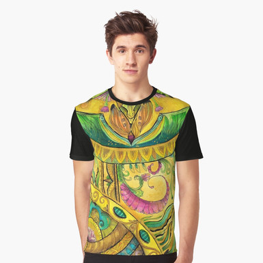 Baroque Organic Graphic T-Shirt