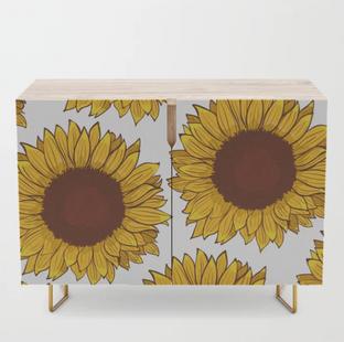 Sunflower Credenza