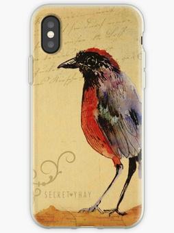 """Carcasa para iPhone """"Ave1"""" / Bird 1 iPad Cases & Skins"""