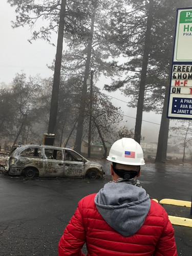 FEMA Work Paris CA. Fires