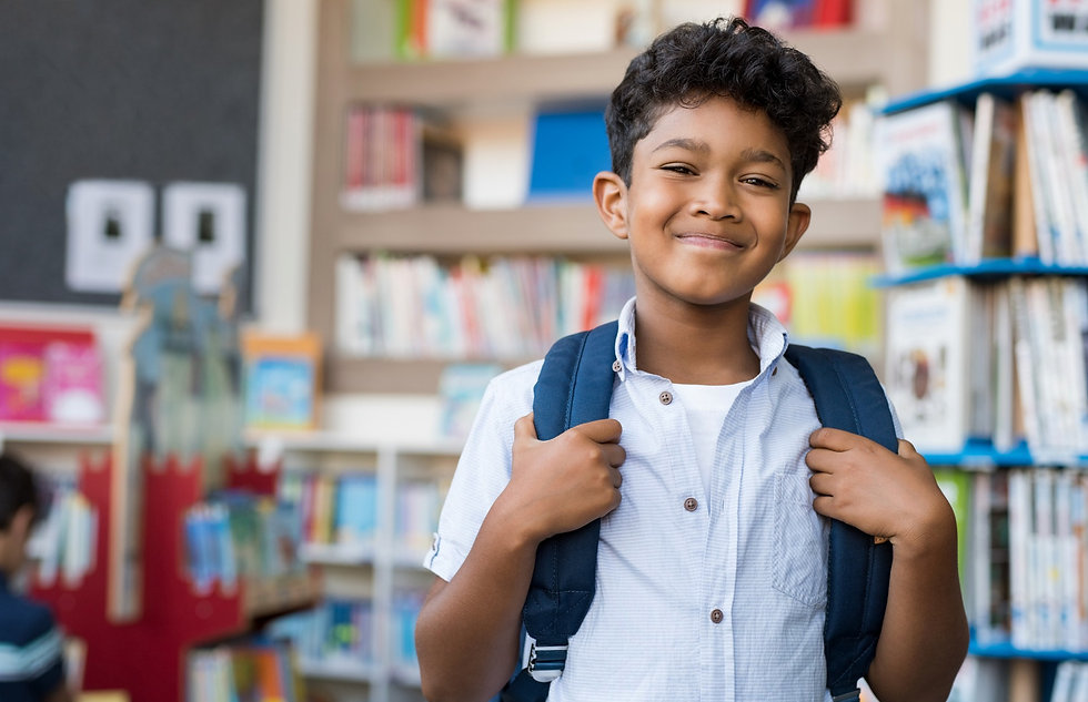 Elementary student at Capstone Christian Academy, a Christian school in Las Vegas, NV