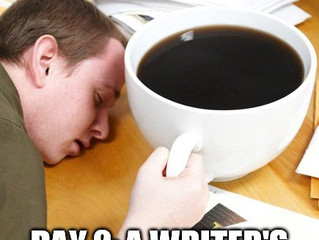 #IGWritersMay - Day 2 - A Writer's Morning