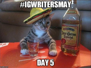 #IGWritersMay - Day 5 - Cinco De Mayo