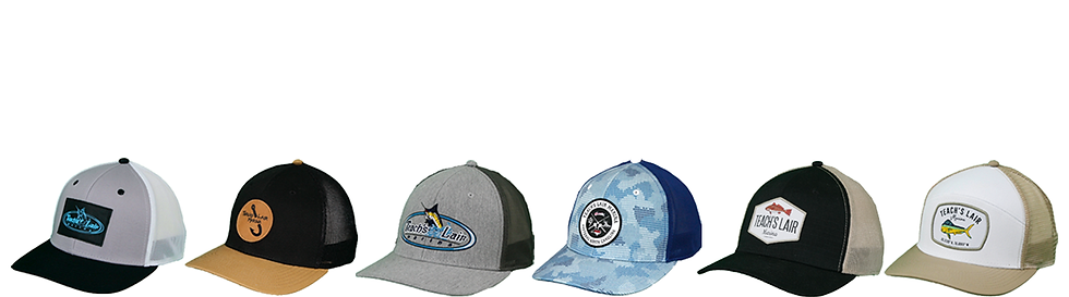 Teach's Lair Hats from Hatteras Marina