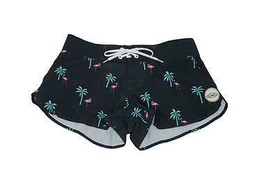 Women's Short Boardshorts Teach's Lair