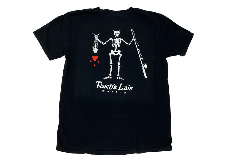 Teach's Lair T-Shirt Hatteras Black