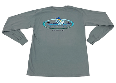 Teach's Lair Marina Long Sleeve Logo