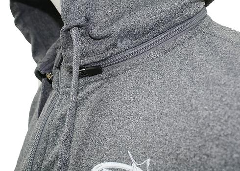 Zip Hood Teach's Lair Marina Jacket