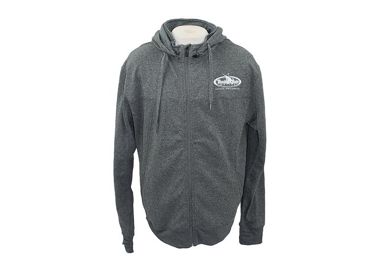 Men's Poly-Tech Zip Hooded Jacket