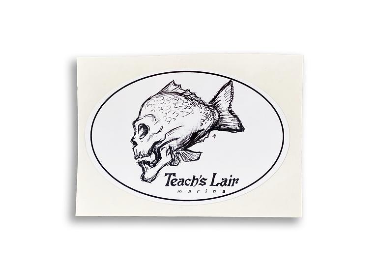 Sticker - Fish Skull