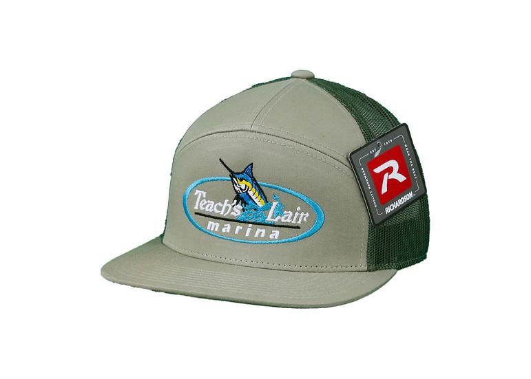 Embroidered Logo - Richardson 7 Panel Trucker
