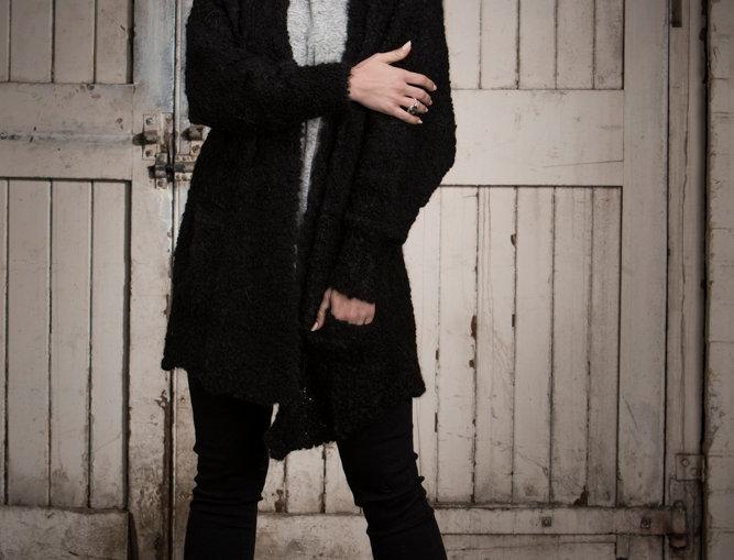 Black Ash Style Cardigan