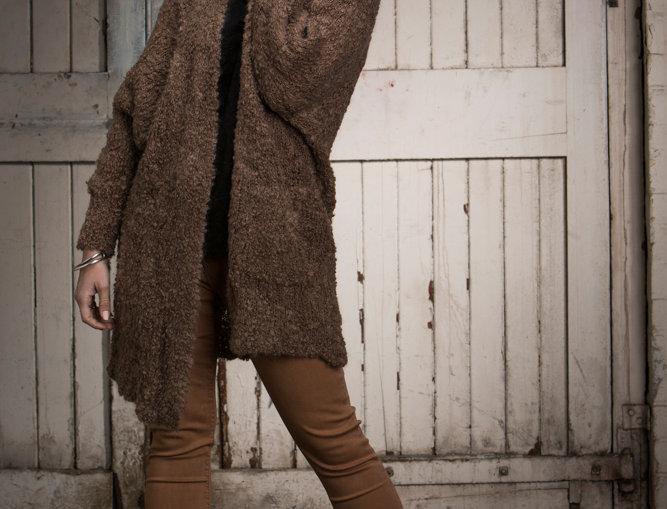 Camel Ash Style Cardigan