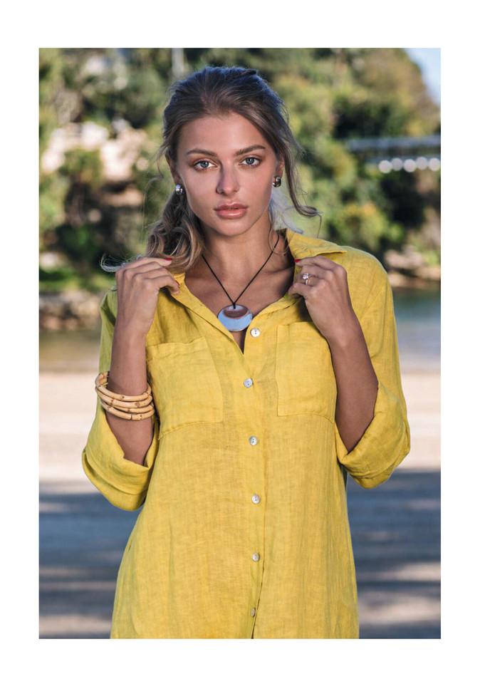 Sally shirt dress