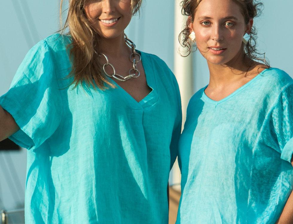 VICKY - Linen Dress