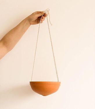Suspension en céramique pour plantes 🌿