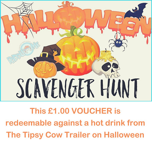 Halloween Scavenger Hunt Voucher