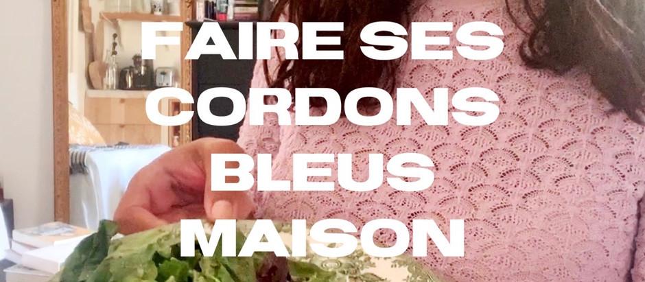 Cordons bleus maison