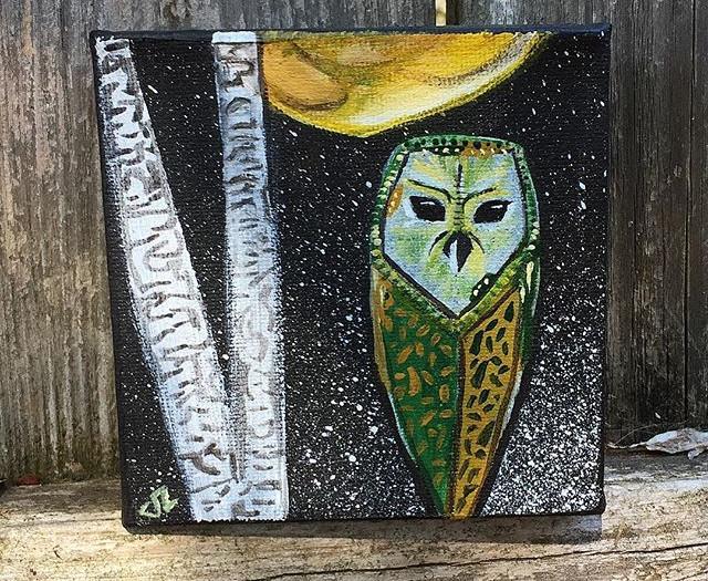 WISE MOON OWL