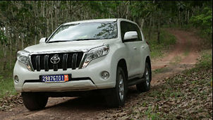 Toyota Prado Vehicle Rental Sierra Leone