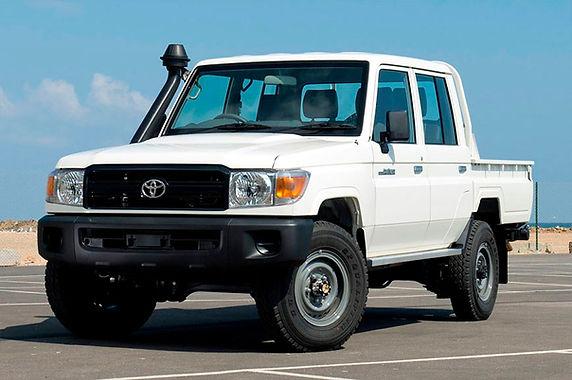 Toyota Land Cruiser HZJ-79 (Double Cab)