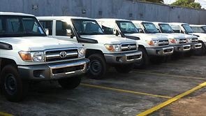 Land Cruiser rental Liberia