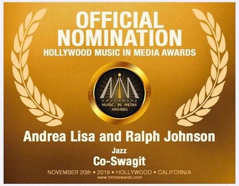 Andrea Lisa Hollywood music in media awards