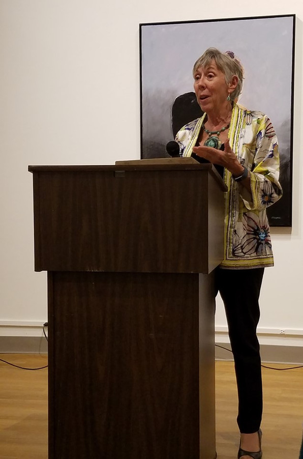 """CNY Pen Women Create Ekphrastic  Response to """"Made in NY"""" Exhibit at Schweinfurth Art Gall"""