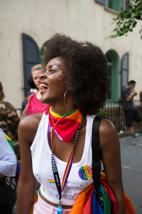BlackPRIDE -hiding love- & photos from PRIDE-NYC