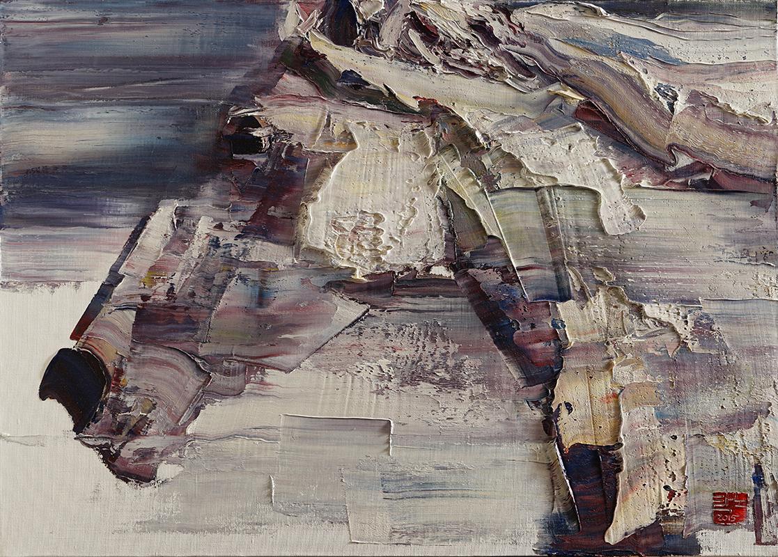 wild aura 2015 horse 018, Oil on canvas, 90.9x65.1cm, 2015